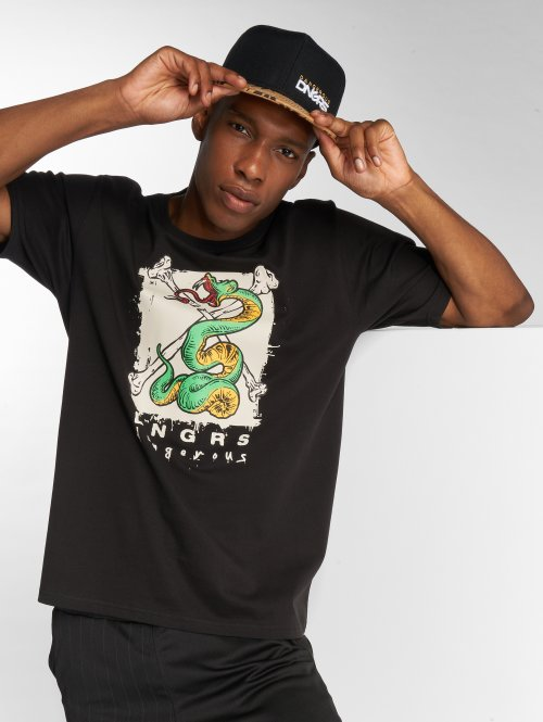 Dangerous DNGRS T-Shirt Snake black