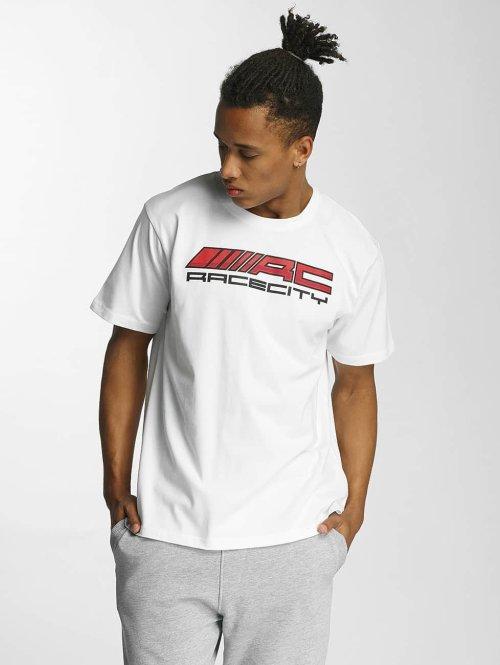 Dangerous DNGRS T-Shirt AMCR Race City blanc