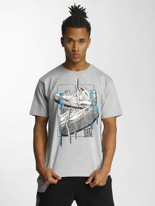 Dangerous DNGRS t-shirt Sneaker grijs