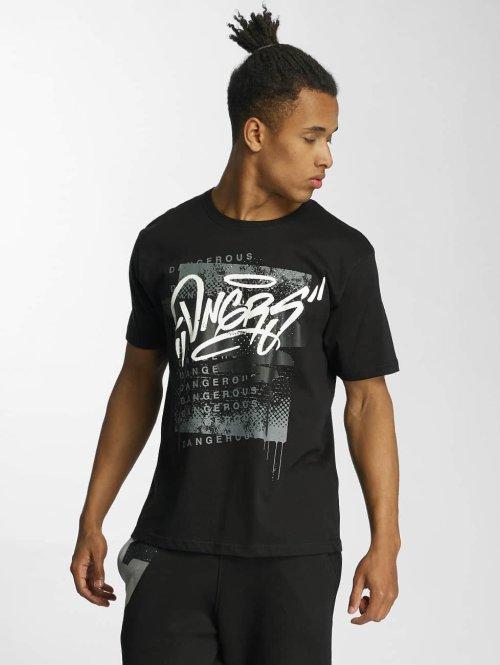 Dangerous DNGRS T-Shirt Scratchwork schwarz