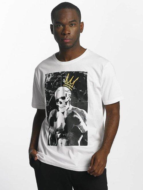Dangerous DNGRS T-Shirt Boxskull weiß