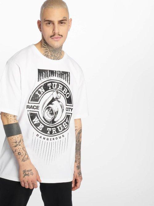 Dangerous DNGRS T-Shirt  Trustboost T-Shirt White...