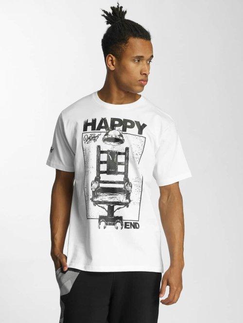 Dangerous DNGRS t-shirt Happyend wit