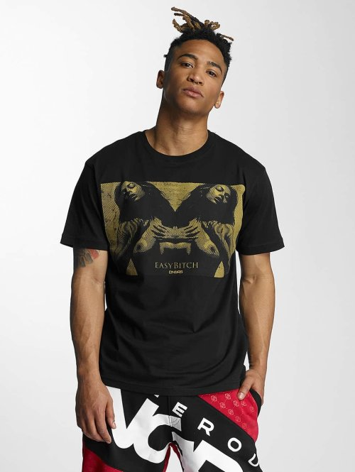 Dangerous DNGRS t-shirt Easy zwart