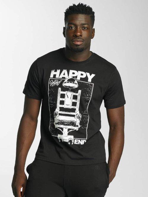 Dangerous DNGRS t-shirt Happyend zwart