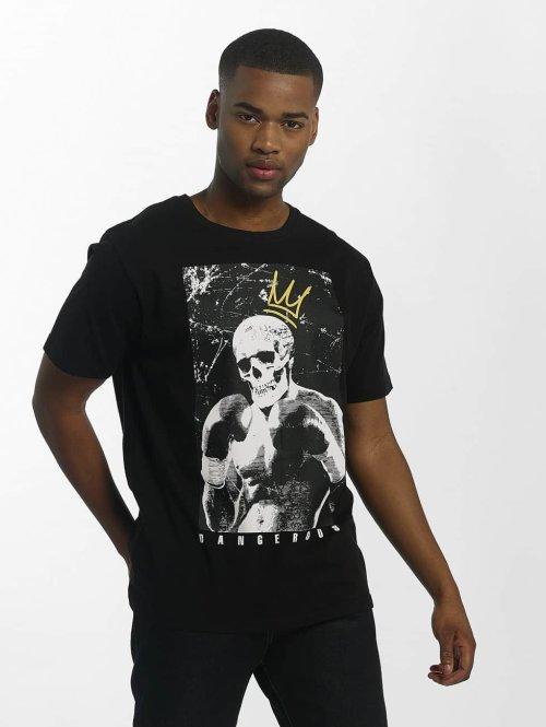 Dangerous DNGRS t-shirt Boxskull zwart