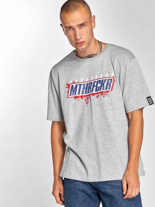 Dangerous DNGRS T-shirts MTHRF... grå