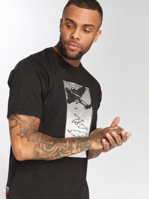 Dangerous DNGRS T-Shirty Weedsky czarny