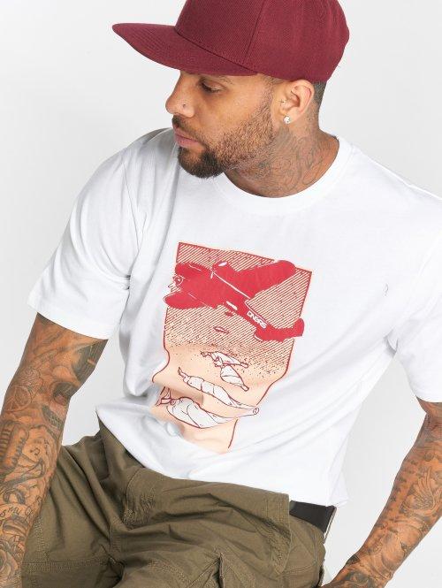 Dangerous DNGRS T-skjorter Weedsky hvit