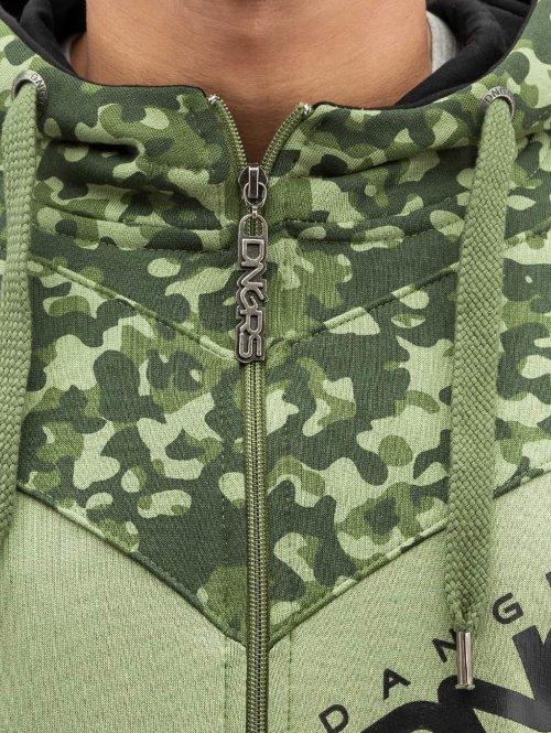 Dangerous DNGRS Zip Hoodie Egzon Race City camouflage