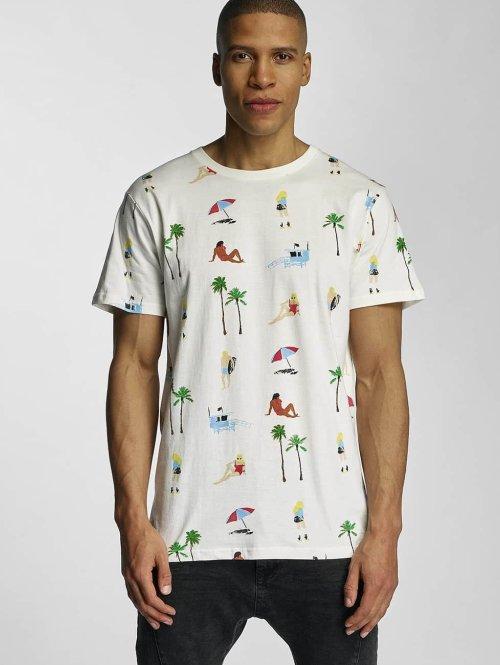 DEDICATED T-Shirt Beach Life blanc