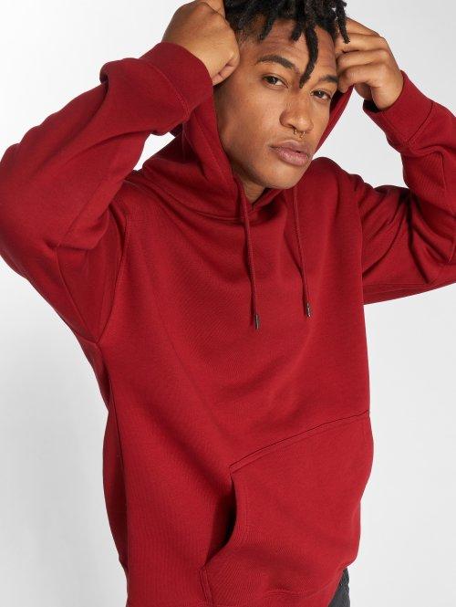 DEF Bluzy z kapturem Moretus czerwony
