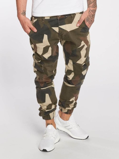 DEF Cargohose Kliv camouflage