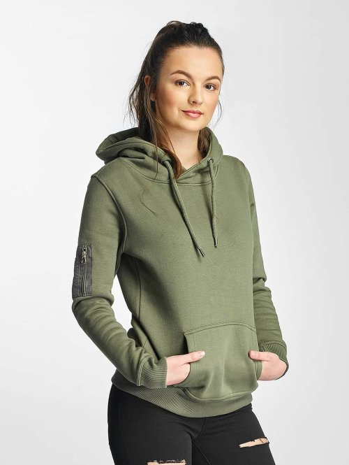 DEF Hoody Upper Arm Pocket olive