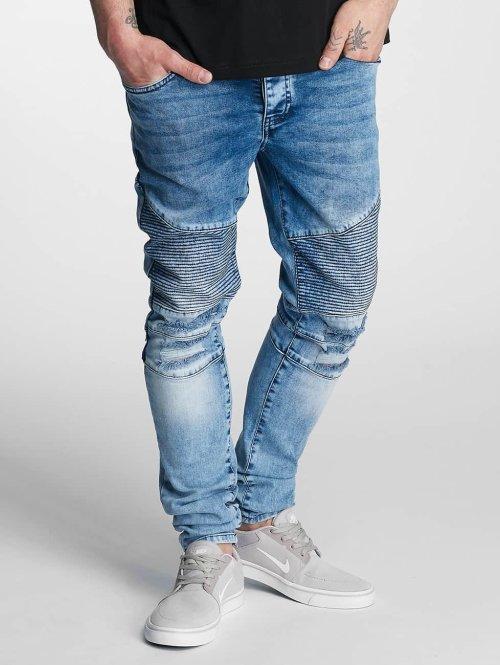 DEF Jean skinny Hamza bleu