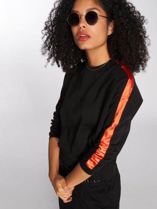 DEF Pullover Tape schwarz