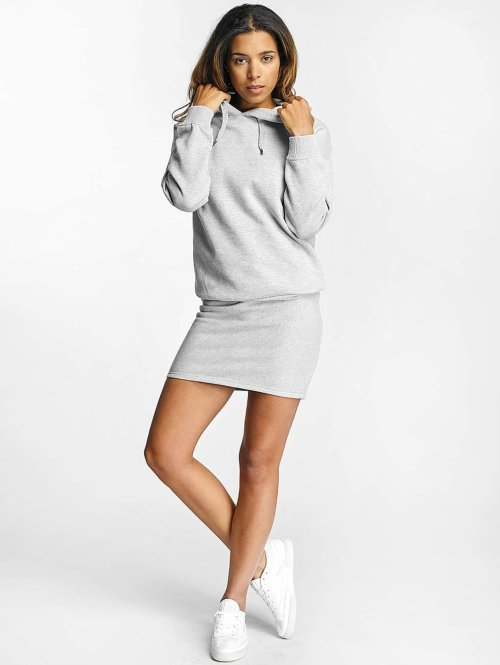 DEF Robe Cropped gris