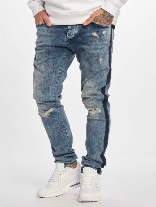 DEF Skinny Jeans Rolf blau