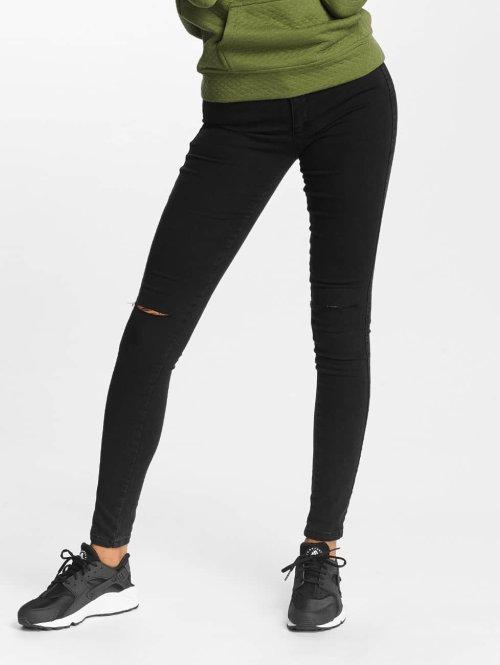 DEF Skinny jeans Elanie zwart