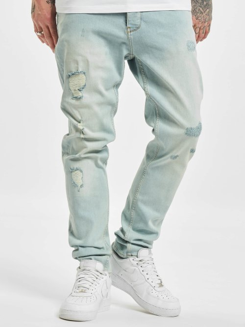 DEF Slim Fit Jeans Antoine blau