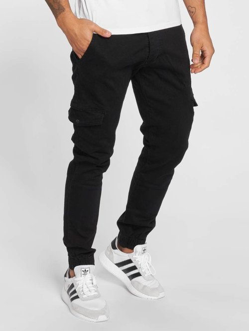 DEF Slim Fit Jeans Harvey zwart