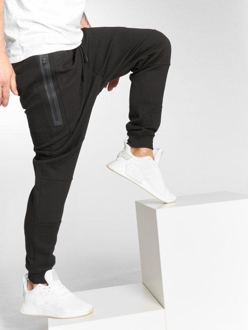 DEF Spodnie do joggingu Antifit czarny