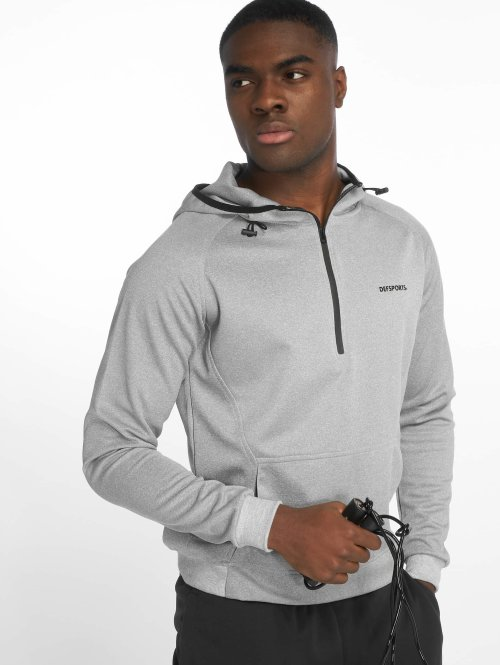 DEF Sports Sweat capuche  Barton Hoody Grey Melang...