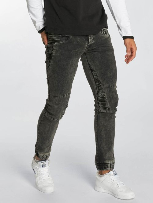 DEF Straight fit jeans Norman DEF grijs