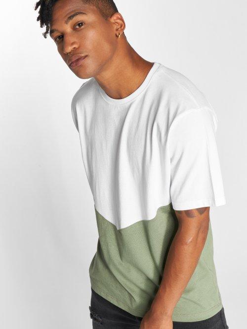 DEF T-shirt Danson grön