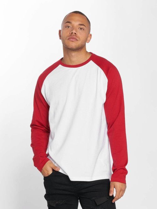 DEF T-Shirt manches longues Frenzy blanc