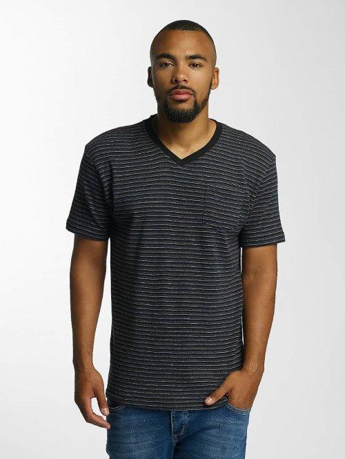 DEF T-Shirt Stripes noir