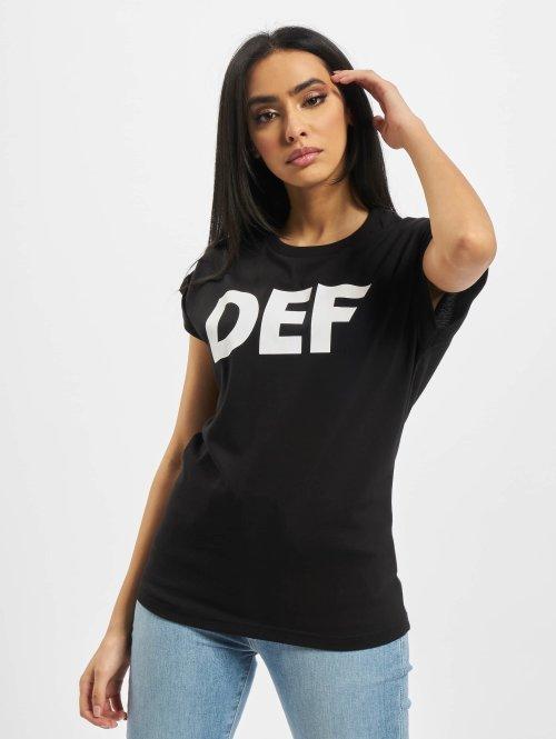 DEF T-Shirt Sizza schwarz