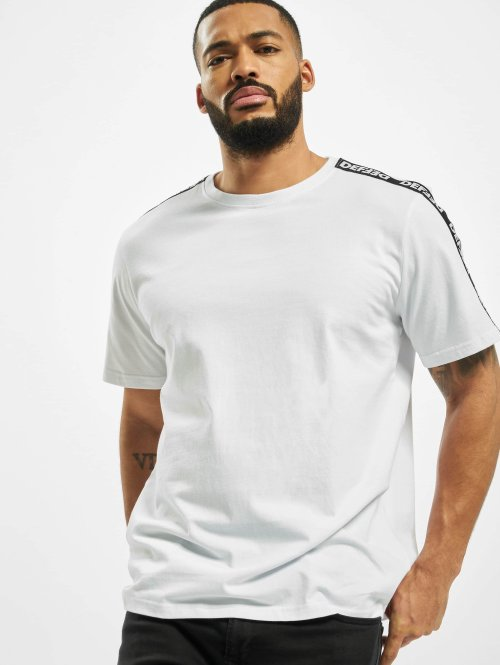 DEF T-Shirty Hekla bialy
