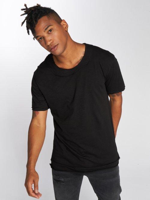 DEF T-Shirty Bica czarny