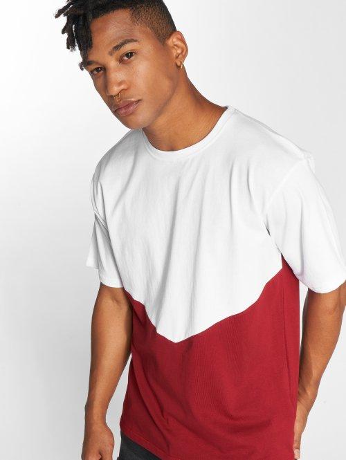 DEF T-Shirty Danson czerwony