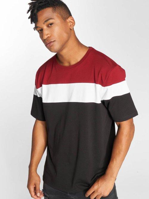 DEF T-Shirty Steely czerwony