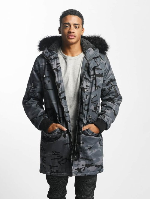 DEF Vinterjakker Bomber camouflage