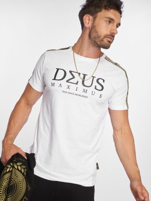 Deus Maximus T-Shirt NEMEAEUS blanc