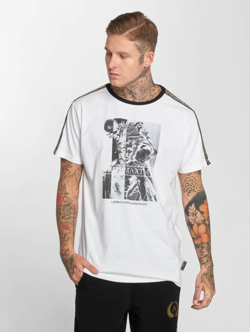 Deus Maximus T-Shirt Gemini weiß
