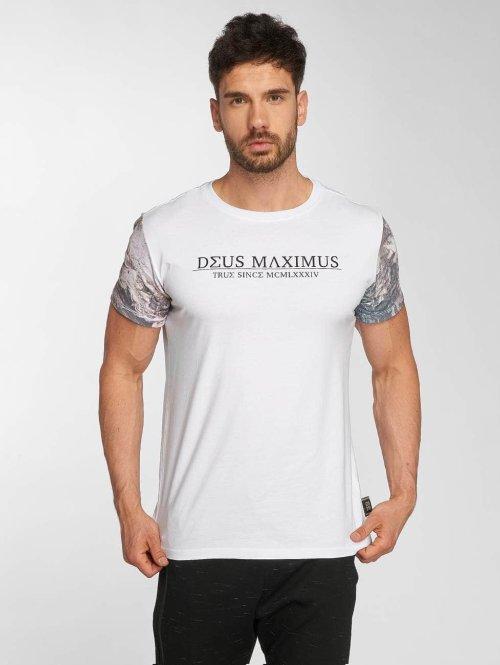 Deus Maximus t-shirt Tanatos wit