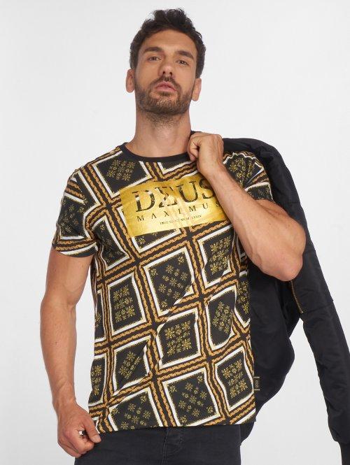 Deus Maximus t-shirt Gianni zwart