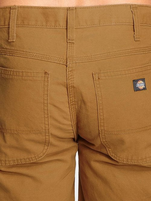 Dickies Shorts 11 Inch Lightweight Duck Carpenter braun