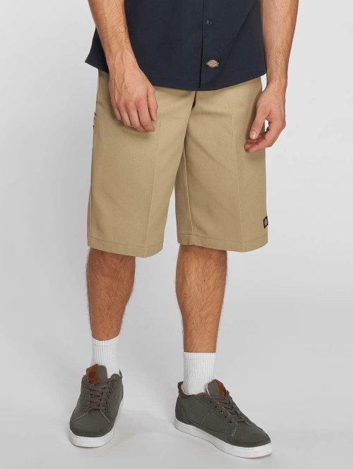 Dickies Shorts 15 Inch Multi Pocket khaki