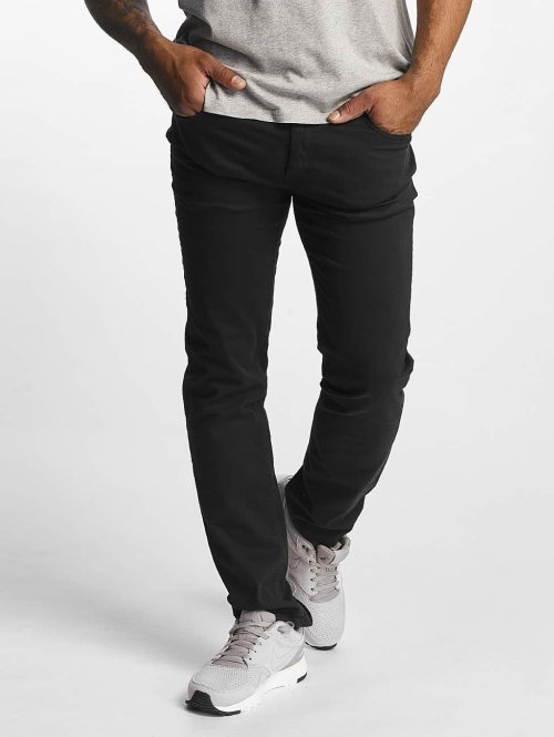 Dickies Slim Fit Jeans Mens Flex Tapered svart