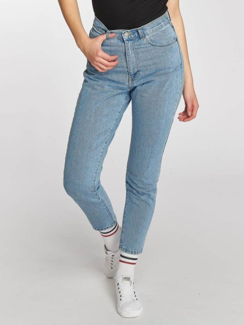 Dr. Denim High Waisted Jeans Nora blauw
