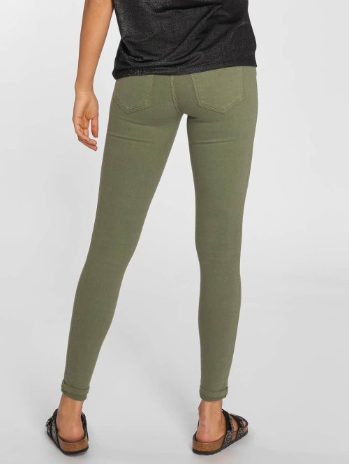 Dr. Denim Skinny Jeans Lexy olive