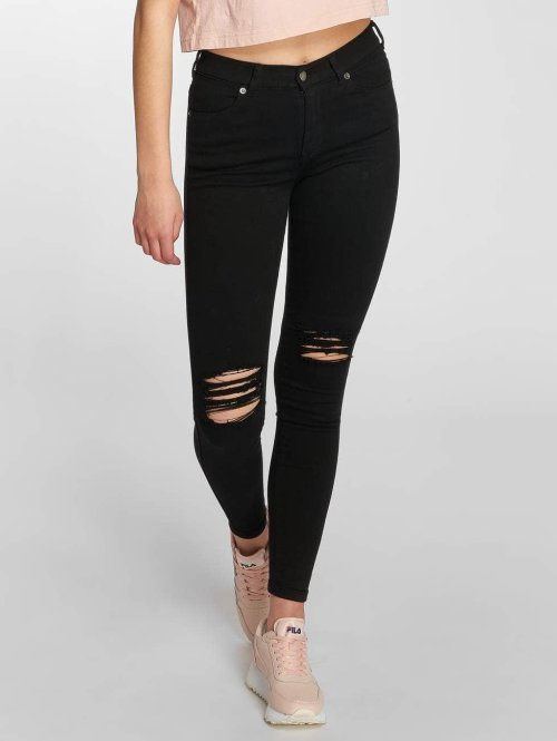 Dr. Denim Skinny jeans Lexy zwart