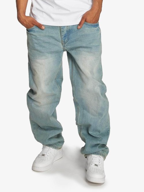 Ecko Unltd. Loose Fit Jeans Hang blå