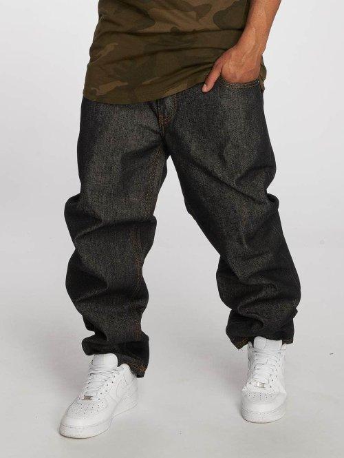 Ecko Unltd. Loose Fit Jeans Hang schwarz