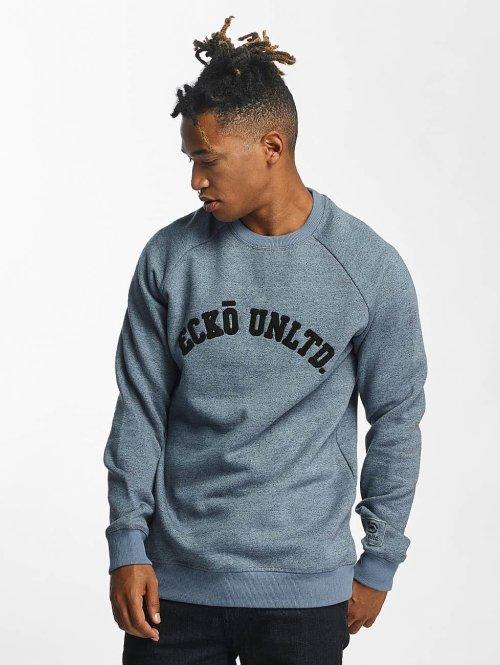 Ecko Unltd. Pullover Dagoba blau